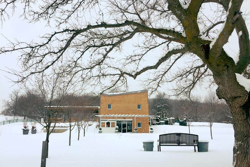 Visitor Center: Winter